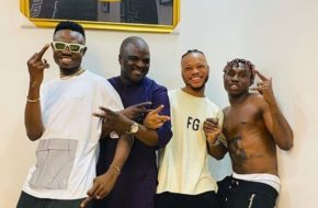 Zlatan Ibile & Obesere In The Studio Together... Can We Say 'E Don Happen'? | Watch Hilarious Video