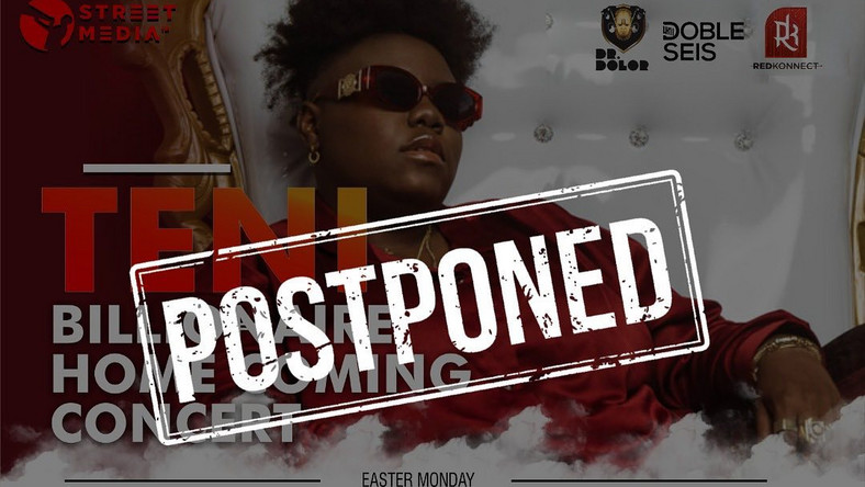 Teni and Brymo canceled upcoming show due to COVID 19