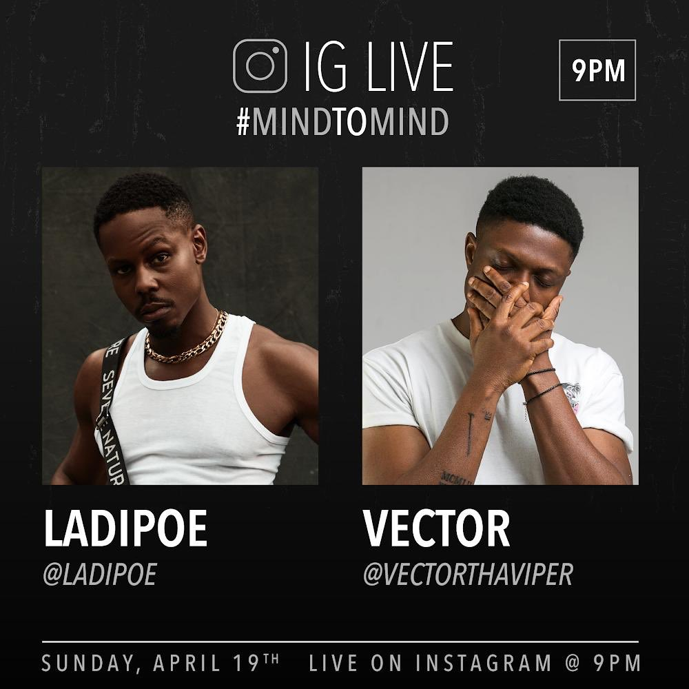 Mind To Mind: Ladipoe & Vector Are Idealistic Rap Performers [Review]