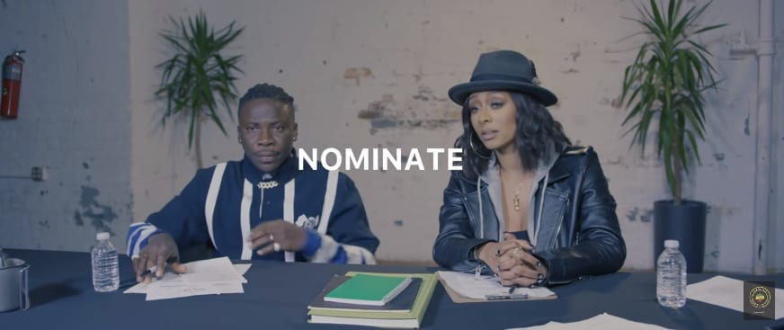VIDEO: Stonebwoy ft. Keri Hilson - Nominate