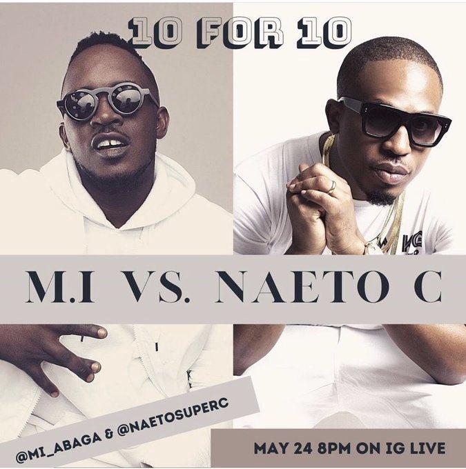 10vs10: MI Abaga vs Naeto C