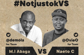 notjustOk Presents: M.I Abaga VS Naeto C | This Friday, May 22 | #NotjustokVS