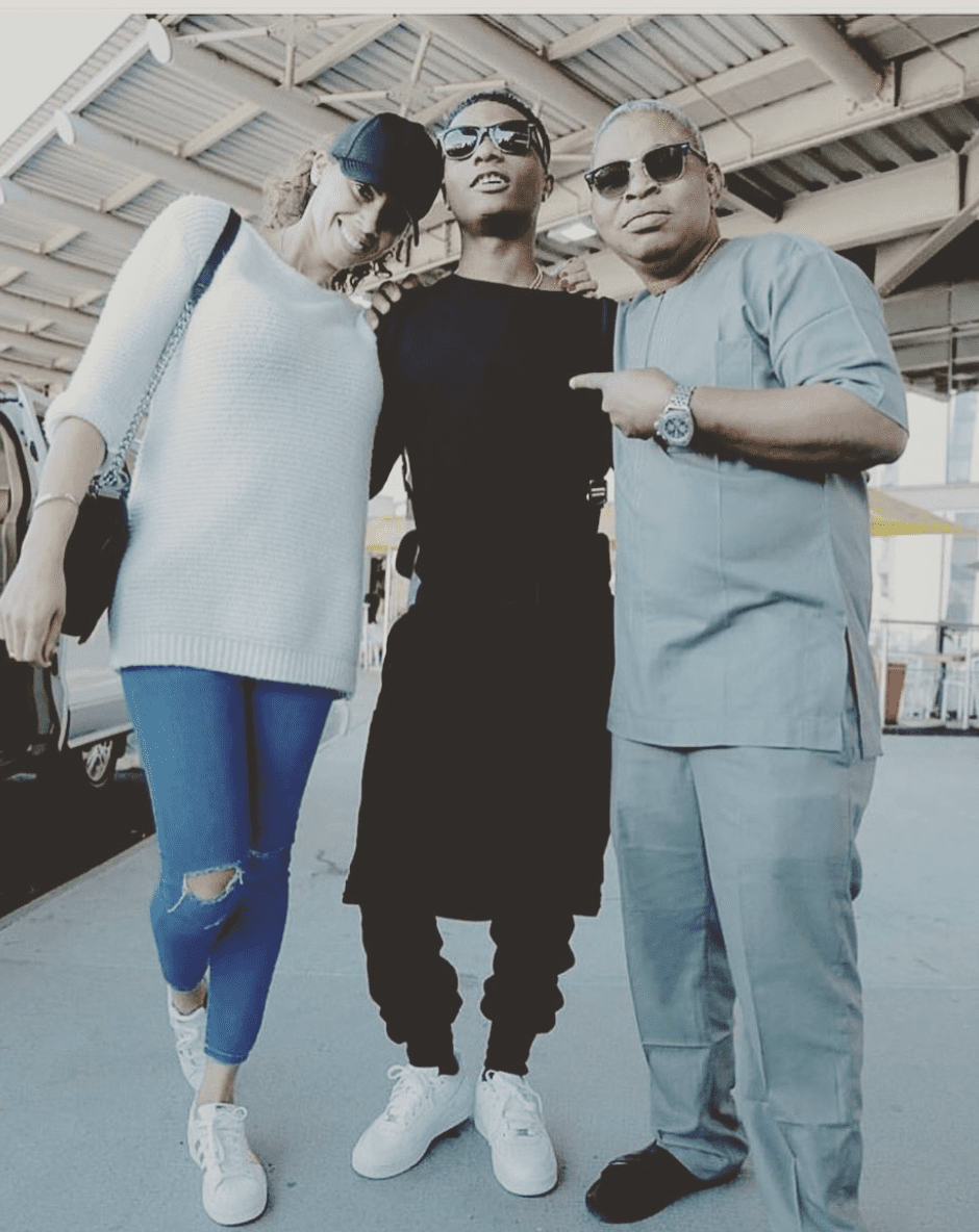 Sunday Are, Wizkid, and Jada Pollock - Executive and Management