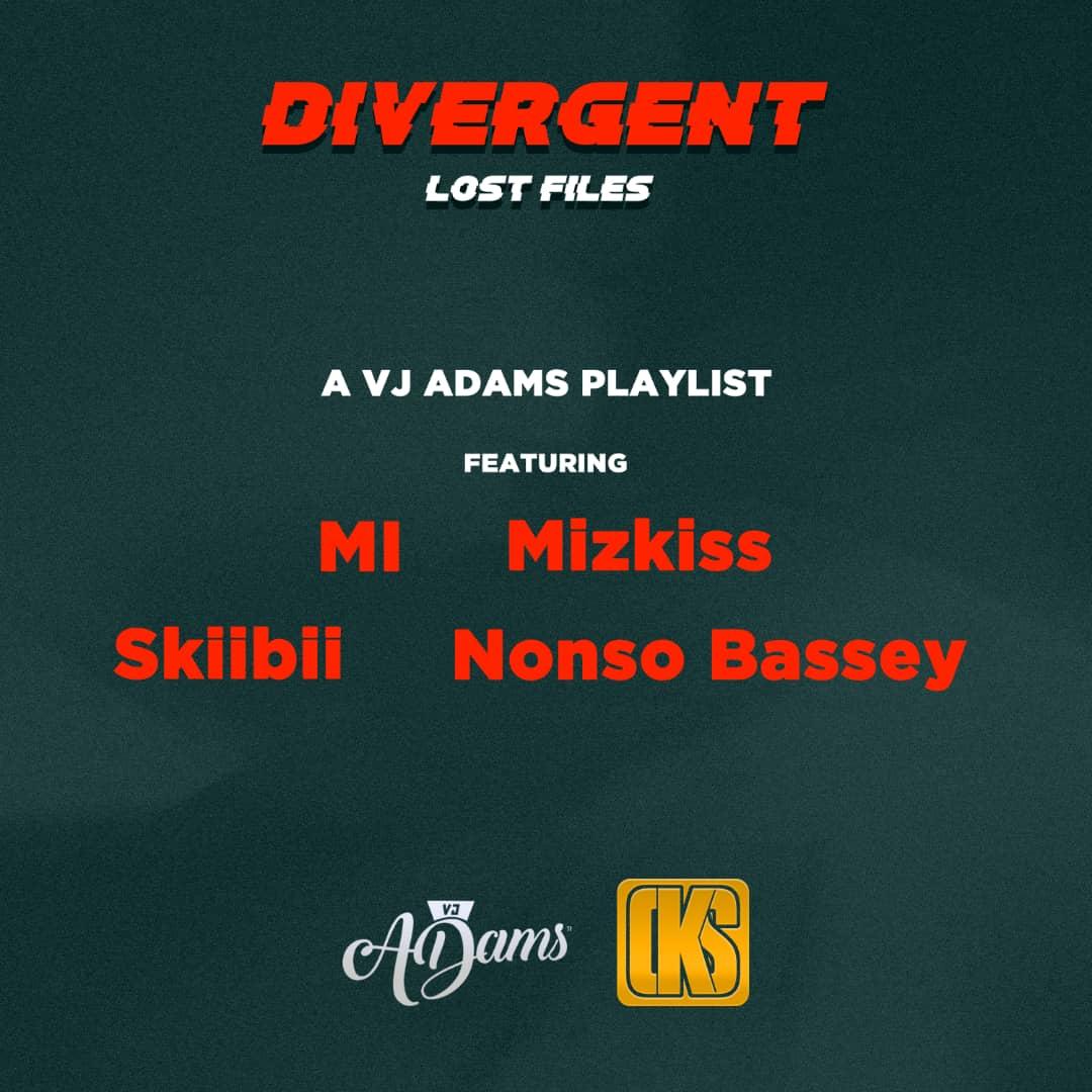 VJ Adams - Divergent (Lost Files) EP