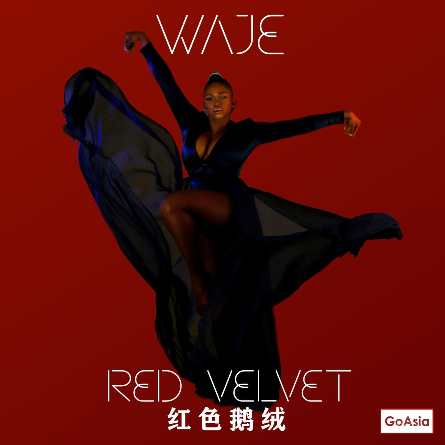 "Waje's ""Red Velvet"" Album to be officially released across Asia on May 15th 2020"