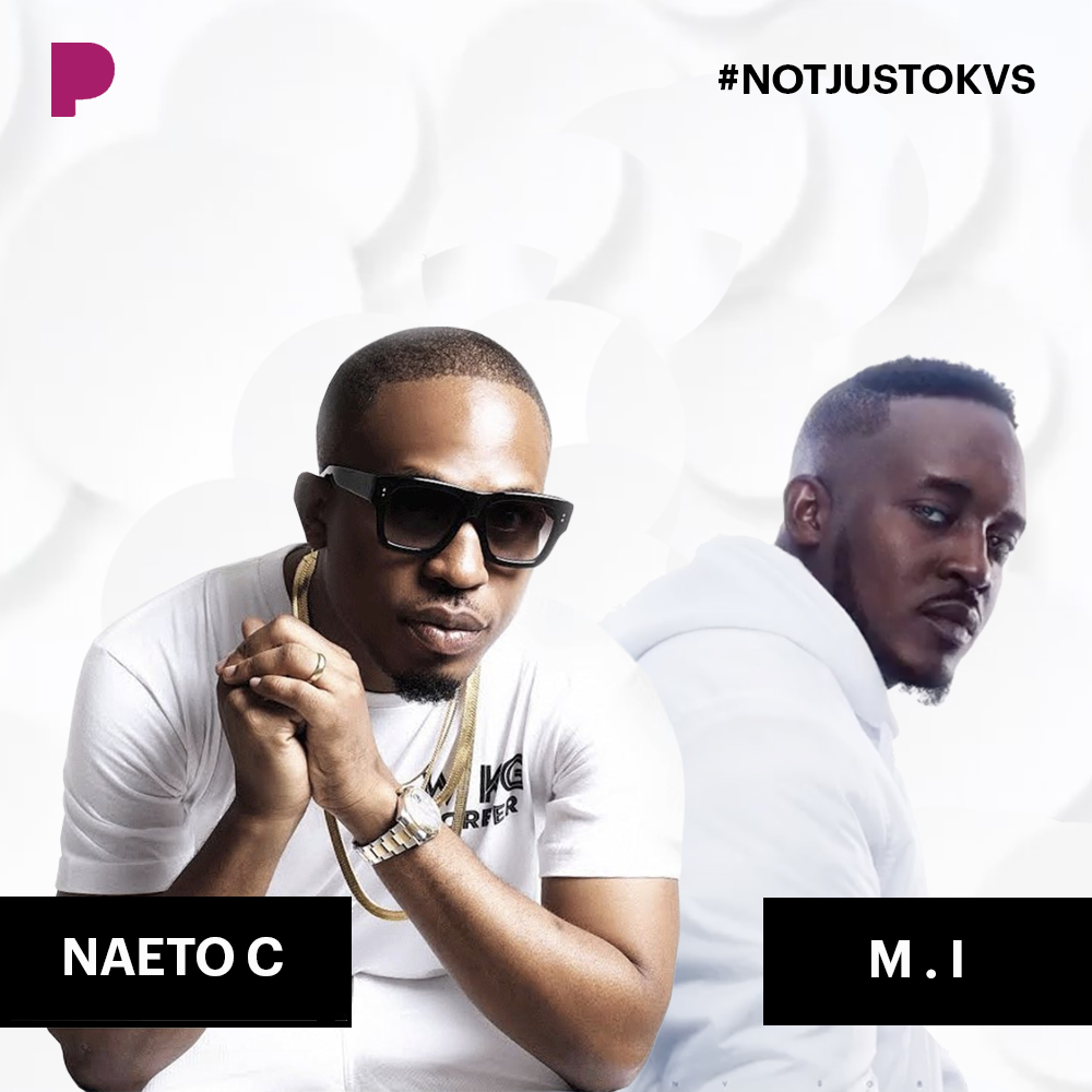 Pandora Music Curates Official #NotjustokVS Playlist: M.I Abaga VS Naeto C