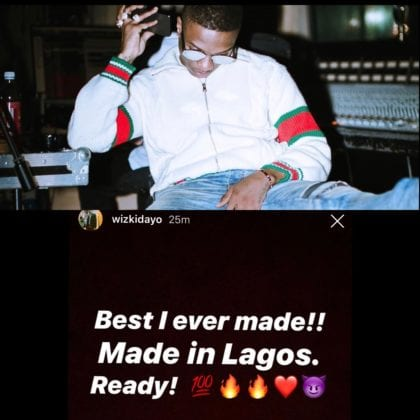 Wizkid Says Made In Lagos Is Ready! Hints Burna Boy, H.E.R, Ella Mai Collab | Watch