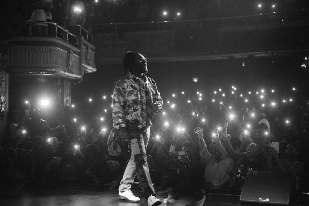 Burna Boy at the Apollo Theater, NY in April 2019