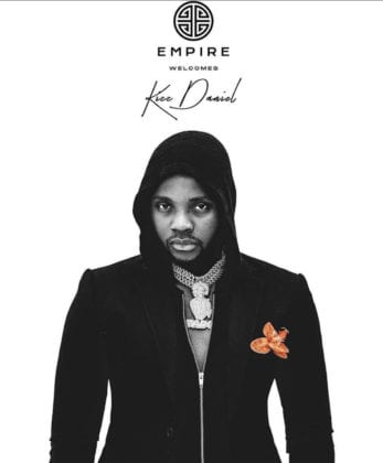 Empire Publishing welcomes Kizz Daniel To The Family