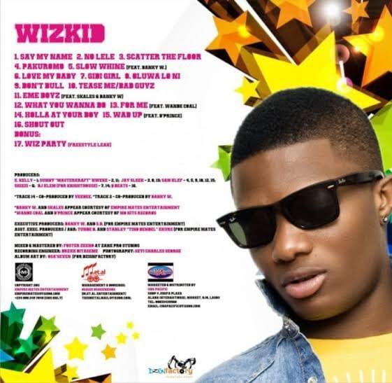Wizkid's Superstar is 9