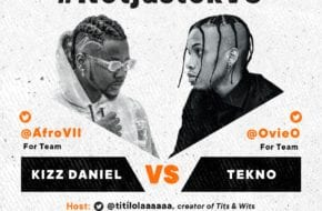#NotjustokVS: Kizz Daniel VS Tekno | This Friday, June 5