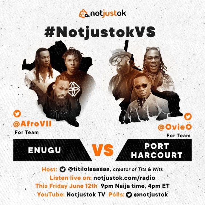 #NotjustokVS: Enugu VS Port Harcourt | This Friday, June 12