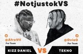 LIVE STREAM: Kizz Daniel VS Tekno | #NotjustokVS