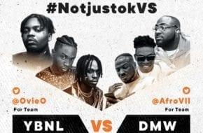 LIVE STREAM: YBNL VS DMW | #NotjustokVS