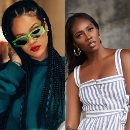 Tiwa Savage Asks Fans To Tag Rihanna For A Possible Collab