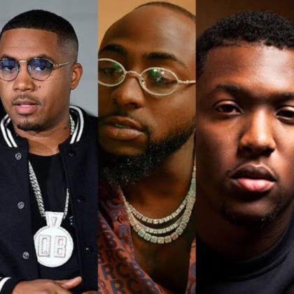 Davido, Nas & Hit-Boy Tease Collab - Watch Video