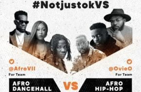 #NotjustokVS: Afro Dancehall VS Afro Hip-Hop | This Friday, July 10