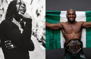 Listen To Burna's Supportive Commentary On Usman's Fight Against Jorge