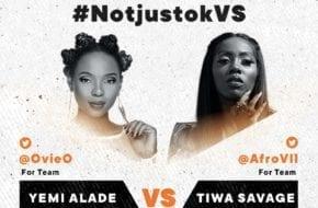 LIVE STREAM: Yemi Alade VS Tiwa Savage | #NotjustokVS