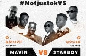 LIVE STREAM: Mavin VS Starboy | #NotjustokVS