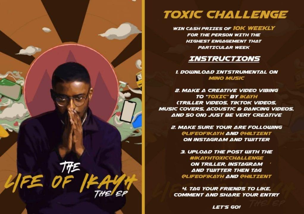 Win N10,000 Every Week With #IkayToxicChallenge by Ikayh