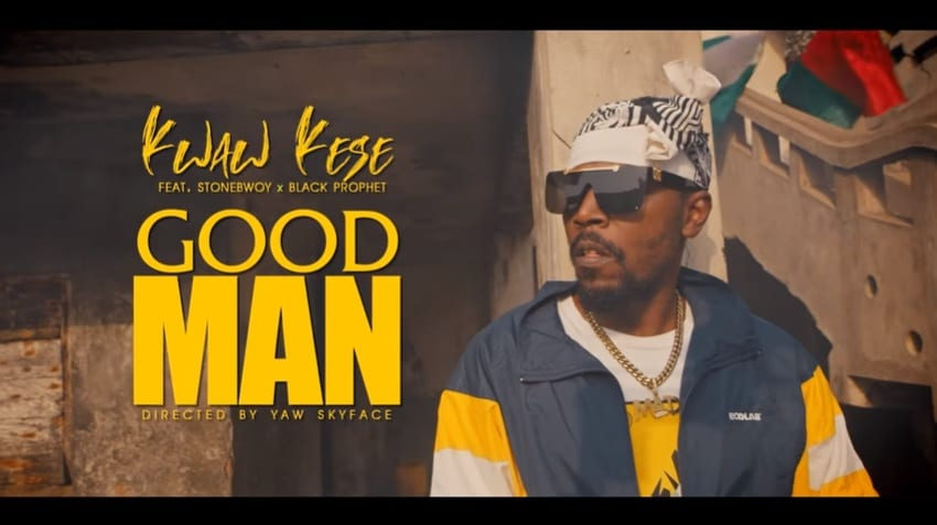 "Kwaw Kese Hooks Up With Stonebwoy & Black Prophet For ""Good Man"""