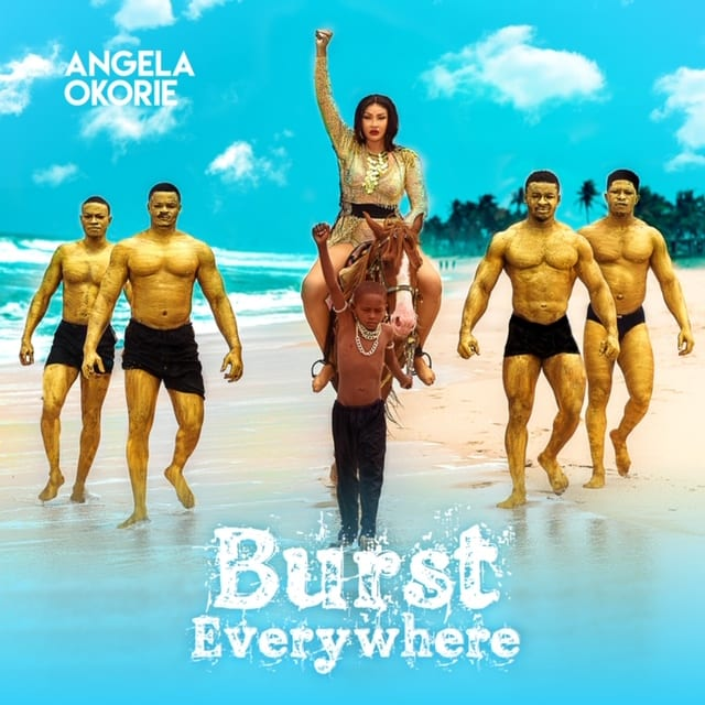 Angela Okorie Burst Everywhere Art