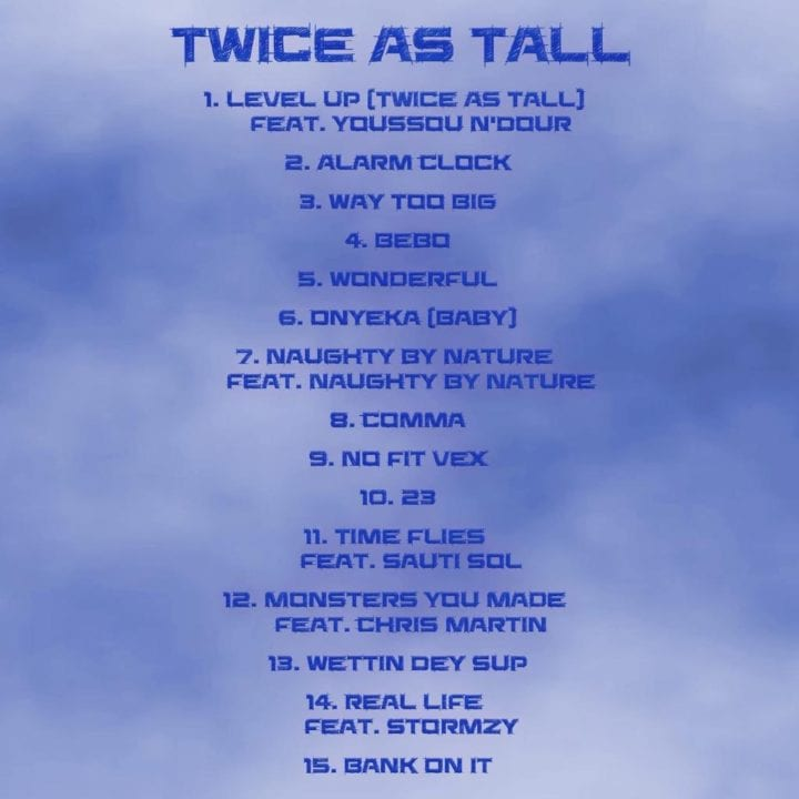 Burna Boy Shares Official Tracklist For New Album 'Twice As Tall'