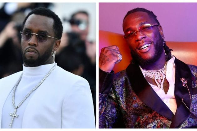 Diddy Opens Up, Says He is Blessed To Have Labored With Burna Boy