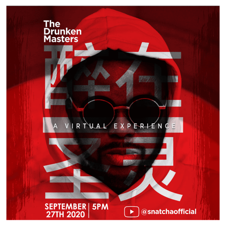 Snatcha of Rooftop MCs Presents 'The Drunken Masters' – A Live Virtual Experience | Sunday 27th September