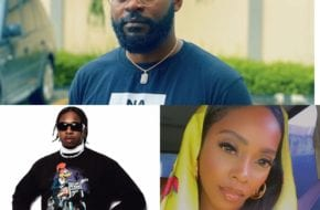 #EndSARS: Nigerians applaud Falz, Runtown, Tiwa Savage, others for moving on with the protest