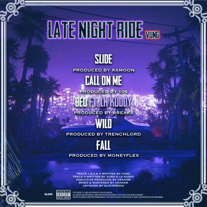 Vung Late Night Ride EP