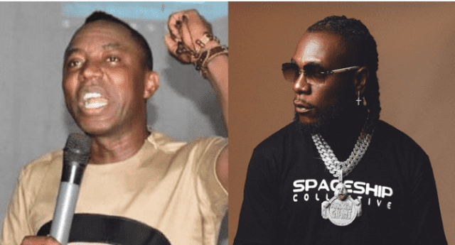 Political activist, Yele Sowore calls out Burna Boy
