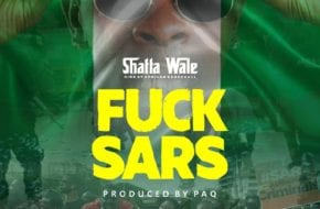 Shatta Wale Joins the #EndSARS movement with new song, 'Fvck Sars'