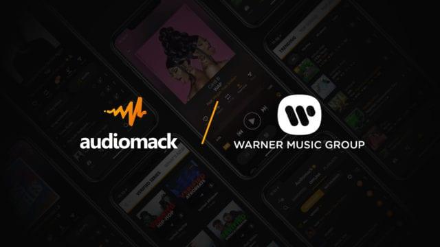Audiomack- Warner Music Group