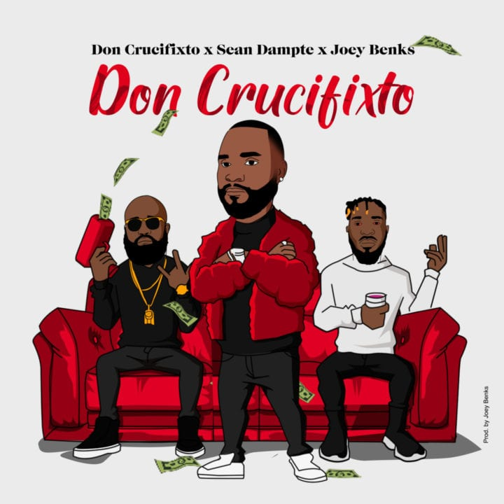 Don Crucifixto, Sean Dampte & Joey Benks on the self-named track 'Don Crucifixto'