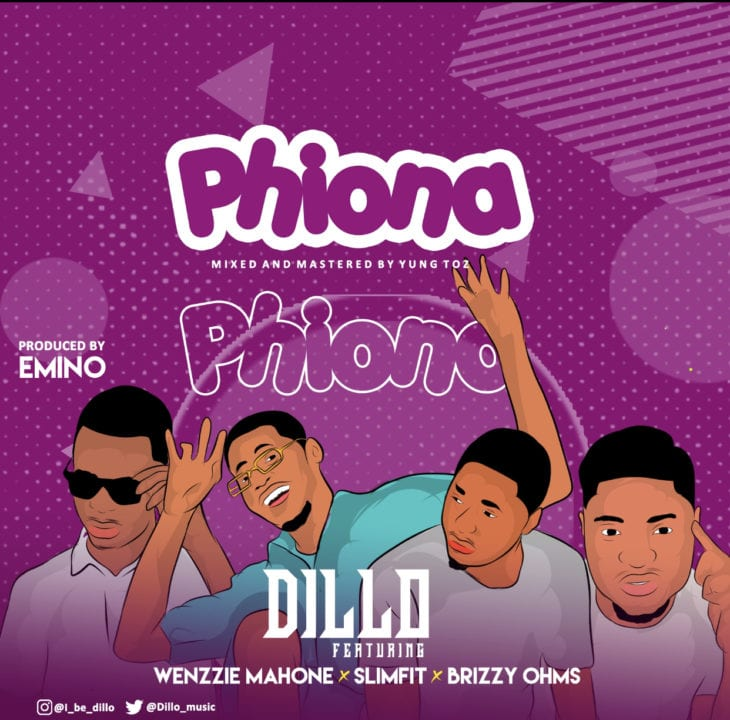 "Dillo Sets Up A Three-Man Collaboration on – ""Phiona"""