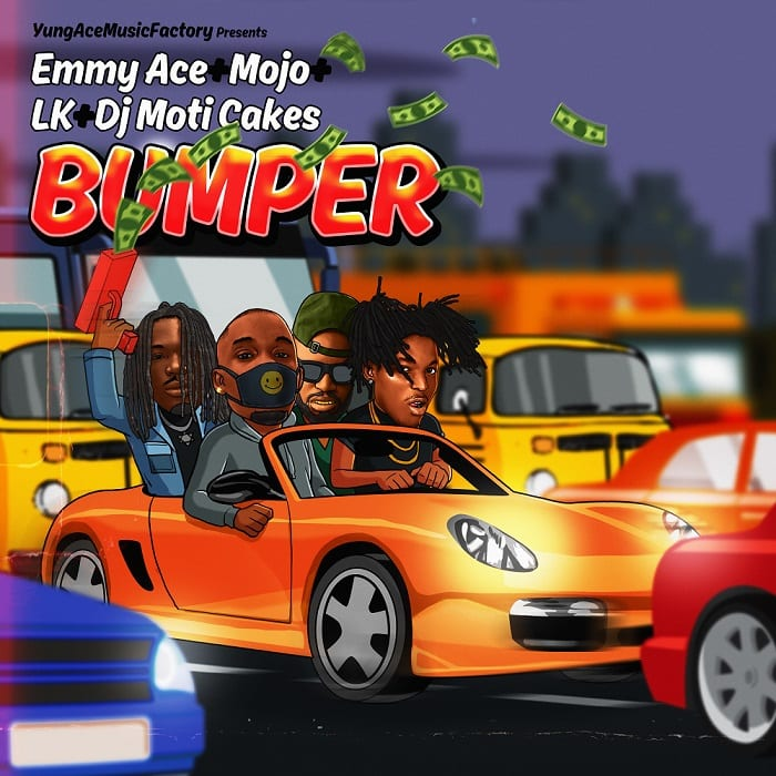 """Emmyace teams up with Mojo, LK and DJ Moticakes for """"Bumper"""""""