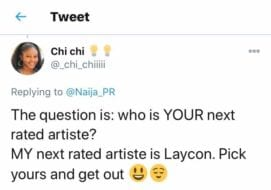 Icons supporting Laycon