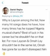 Laycon Next rated