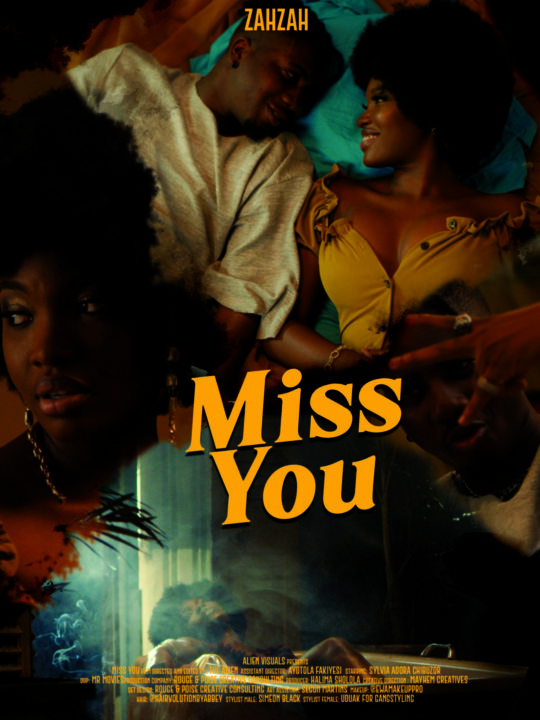 "Rising Star ZahZah Releases Artsy Video For – ""Miss You"""