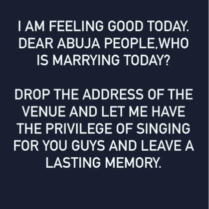 Timi Dakolo Abuja weddings