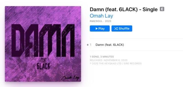 Omah Lay Warner Records