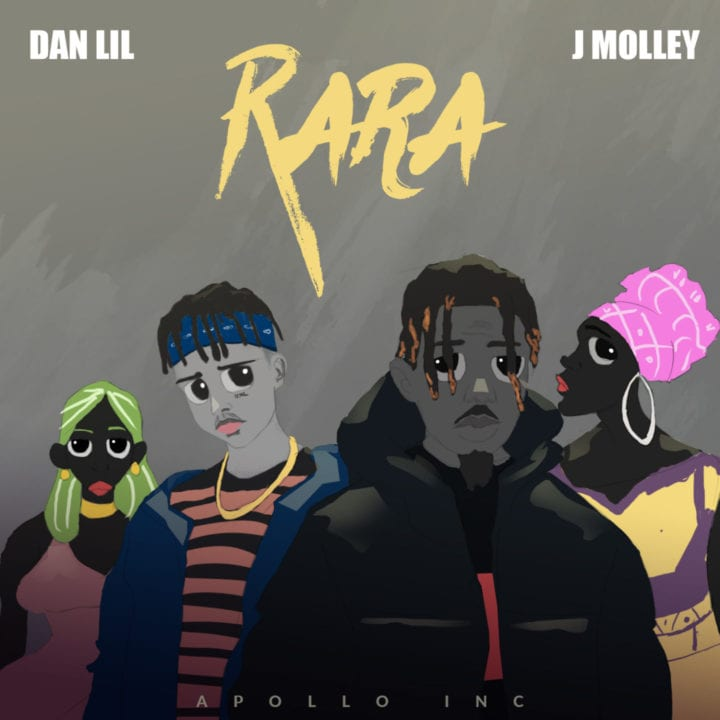 DanLil and J Molley Combine To Deliver Banging New Tune – Rara