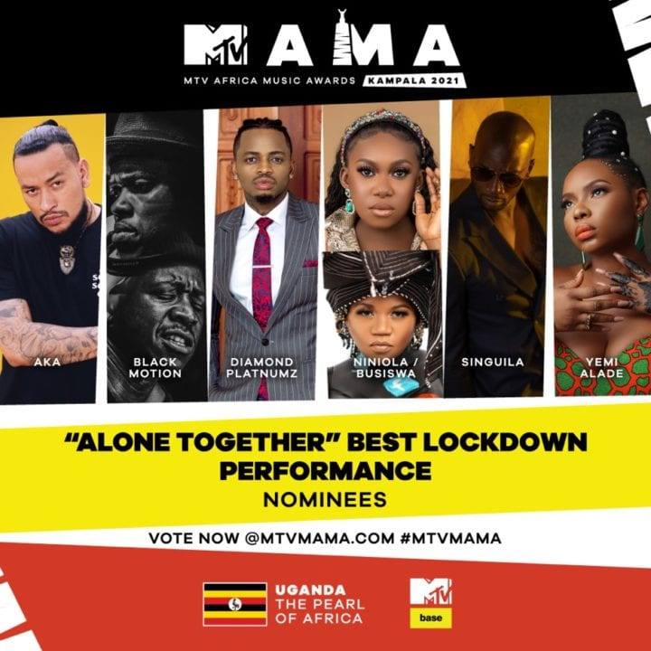 """'Alone Together' Best Lockdown Performance"""