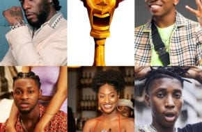 Burna Boy Omah Lay Mayorkun Headies Awards