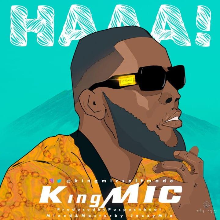 KingMIC Returns To Unlock Melodious Dance Tune – 'Haaa'