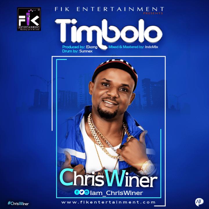 """ChrisWiner drops his 7th studio single - """"Timbolo"""" - Stream Mp3"""