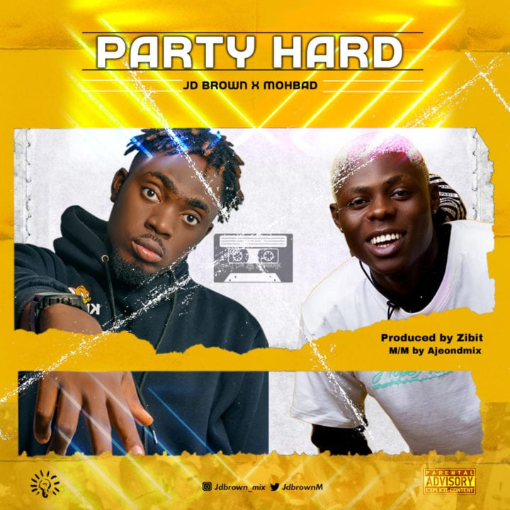 JD Brown And MohBad Shine On – 'Party Hard'