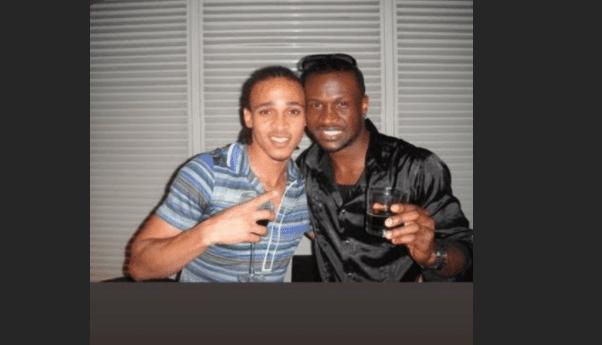 Peter Okoye and Osaze